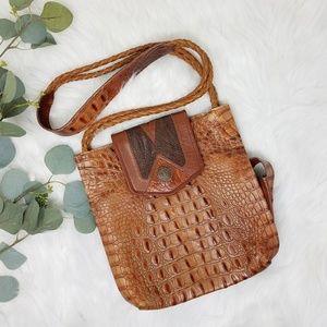 JAMES CULVER Vintage Reptile Purse Handbag